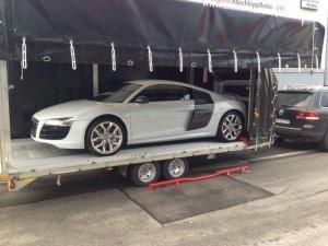 ECT - verladener Audi R8