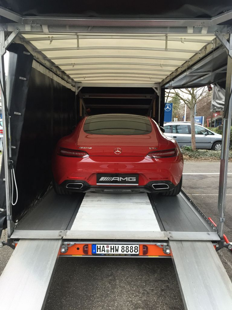 ECT Mercedes AMG GT Rot